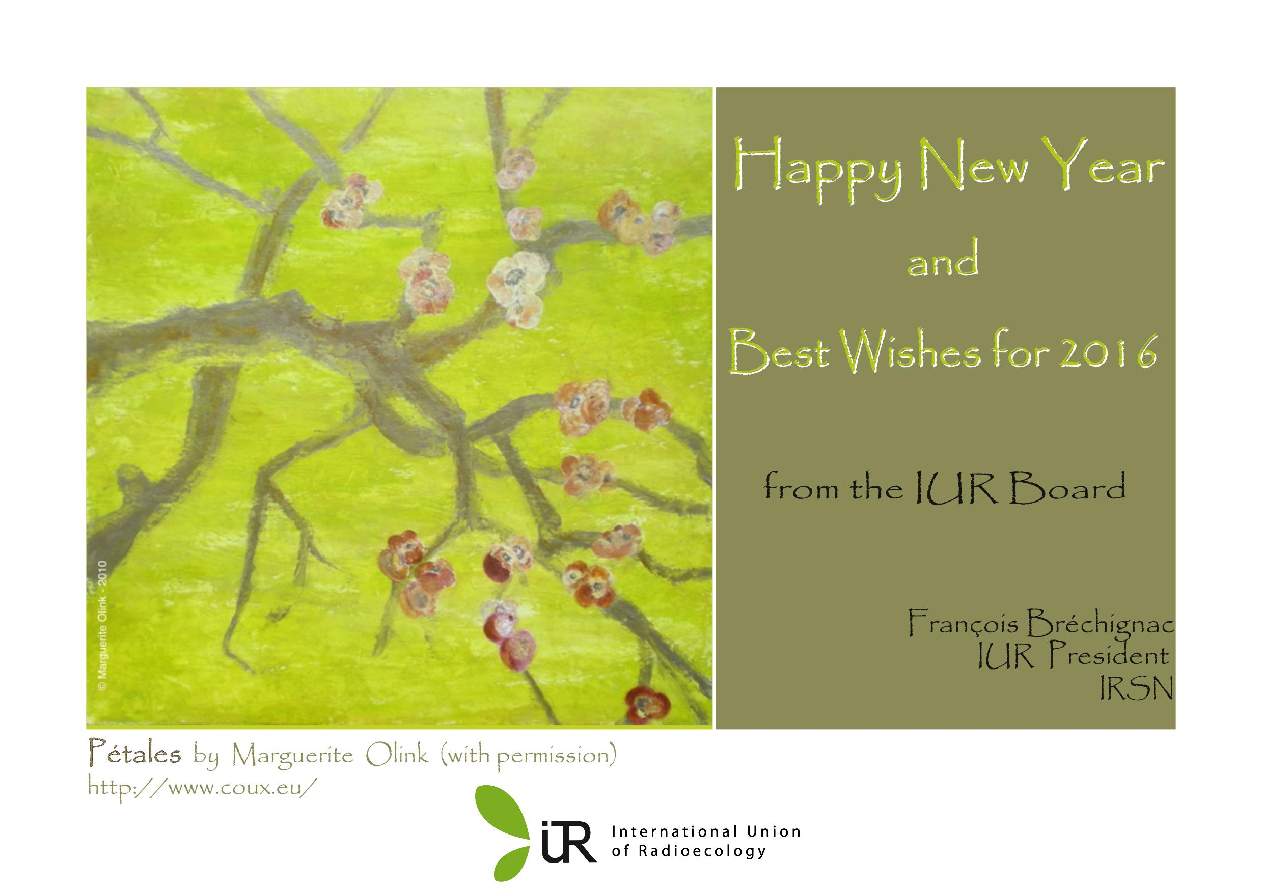 New Year Greetings From The Iur Board Iur News Archives